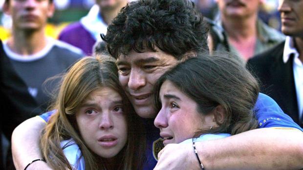 Cinco hijos y tres nietos, la gran familia de Diego Armando Maradona