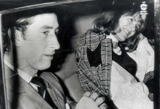 Prince Charles with Camila in 1975