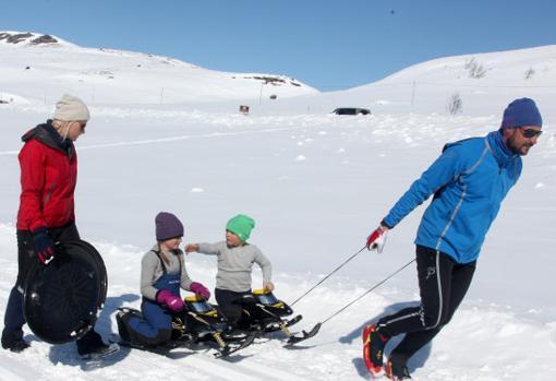 La Princesa Mette-Marit de Noruega acaba en urgencias tras sufrir un accidente de esquí