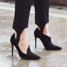 Leggings & # 039; fuseau & # 039;  above the shoe