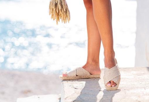 Ibizas Heritage flat sandals