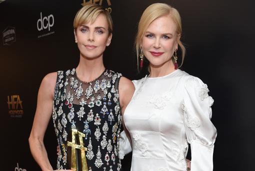 Nicole Kidman y Charlize Theron
