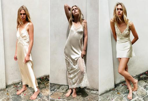 Some of the wedding dresses from the new Zara collection (between € 79.95 and € 99.95)