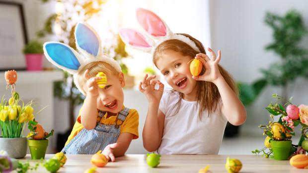 Las manualidades infantiles de Pascua despiertan la imaginación de los niños