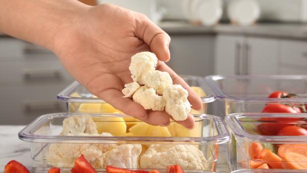 Para que las verduras crudas se conserven deben guardarse en el tupper sin aliños