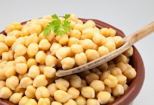 Garbanzos, una de las legumbres más saciantes