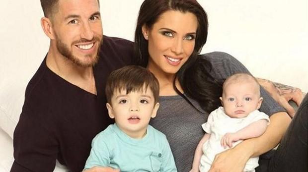 Sergio Ramos, Pilar Rubio y sus hijos