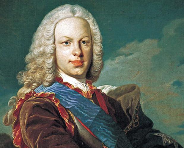 Retrato del rey Fernando VI, por Louis-Michel van Loo.
