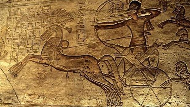 La furia divina del «victorioso» faraón Ramsés II en la batalla de Qadesh
