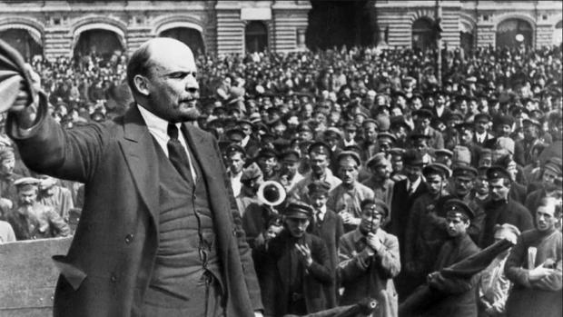 Lenin, en una imagen de 1917