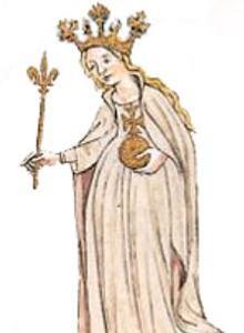 Imagen de la Reina Petronila