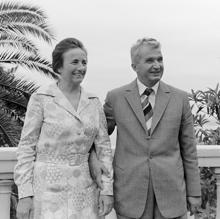 Nicolae y Elena Ceaucescu
