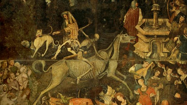 El triunfo de la muerte, Palazzo Abatellis de Palermo.