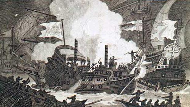 Las siete «Invencibles» inglesas que fracasaron al intentar invadir España y que nadie recuerda