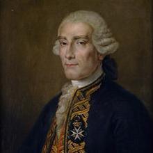 Retrato de Jorge Juan y Santacilia