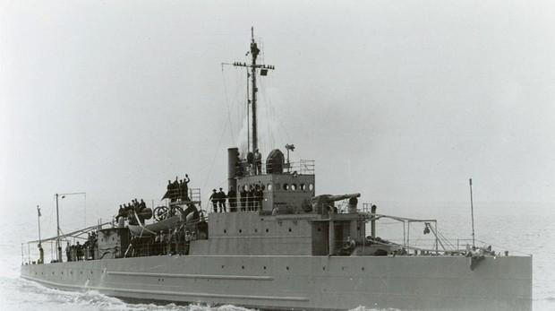 USS Eagle 2 (PE-2), idéntico al bote USS Eagle PE-56