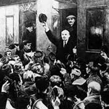 Lenin, en 1917