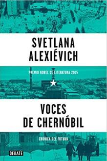 Portada del libro «Voces de Chernóbil»