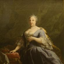 Retrato de Bárbara de Braganza