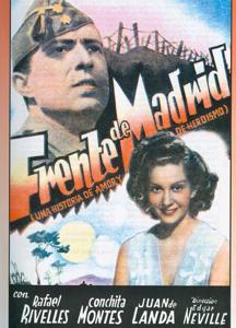 Cartel de «Frente de Madrid»