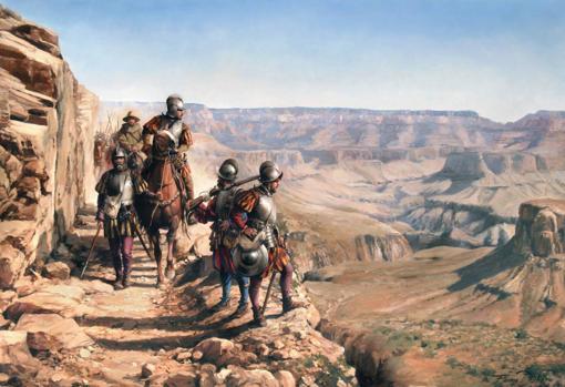 'Españoles en el Colorado', de Augusto Ferrer-Dalmau
