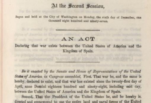 Declaración de guerra