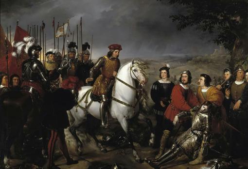 El Gran Capitán encuentra el cadáver de Luis de Armagnac