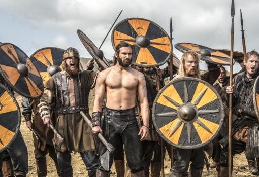 Fotograma de la serie vikingos.