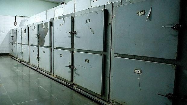 Los cuerpos fueron dejados en la morgue 24 horas