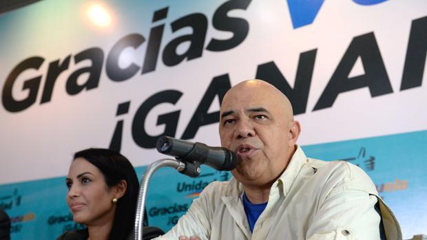 El presidente de la MUD, Jesús «Chúo» Torrealba