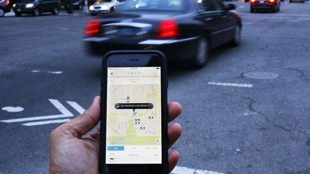 La aplicación de transporte Uber
