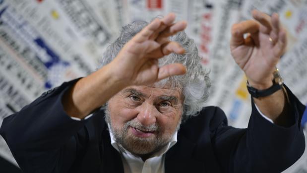 Beppe Grillo es el fundador del M5S