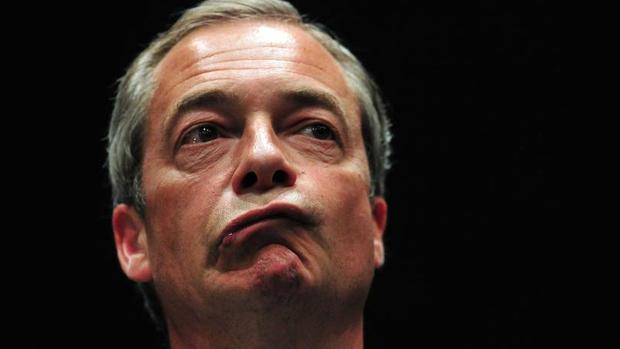 El antiguo líder del Partido por la Independencia del Reino Unido, Nigel Farage