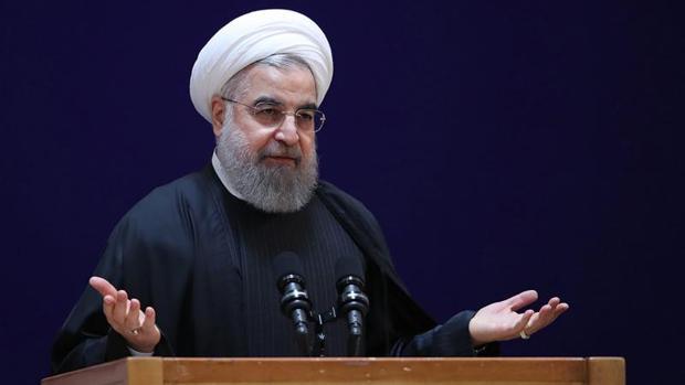 El presidente iraní, Hassan Rouhani, ha hablado del asunto durante una ceremonia en Teherán, Irán