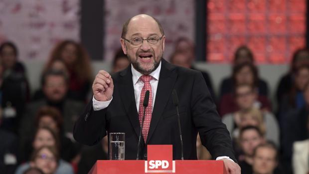 El presidente designado del SPD, Martin Schulz