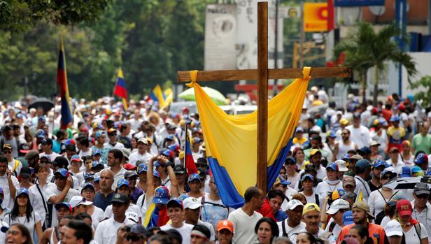 La manifestación pretendía recordar las víctimas de las últimas protestas