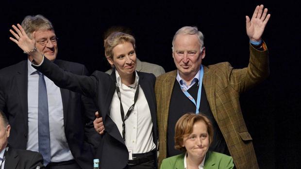 Widel (izquierda) y Gualand (derecha) serán los cabezas de lista para las elecciones generales de Alemania del 24 de septiembre