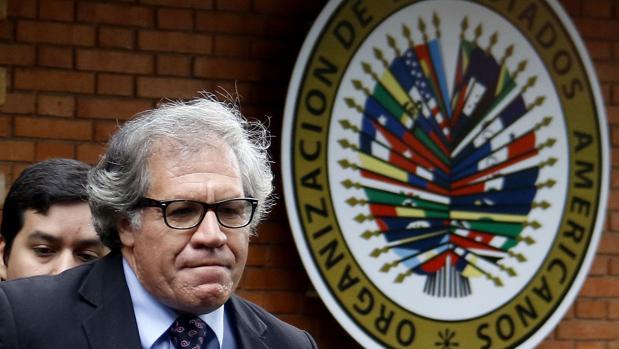 El secretario de la Organización de Estados Americanos (OEA) Luis Almagro