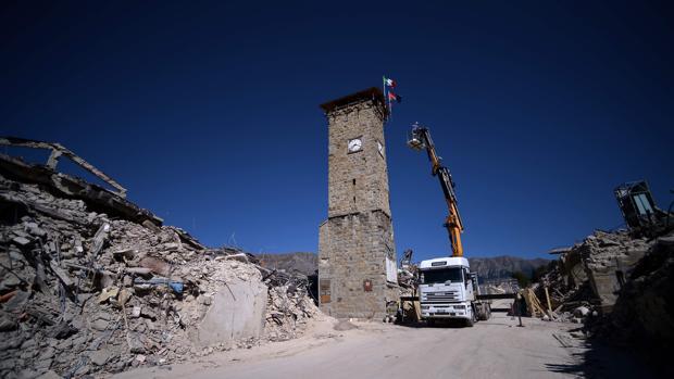 Amatrice un año después del terremoto