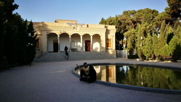 Vista del Templo del Fuego de Yazd