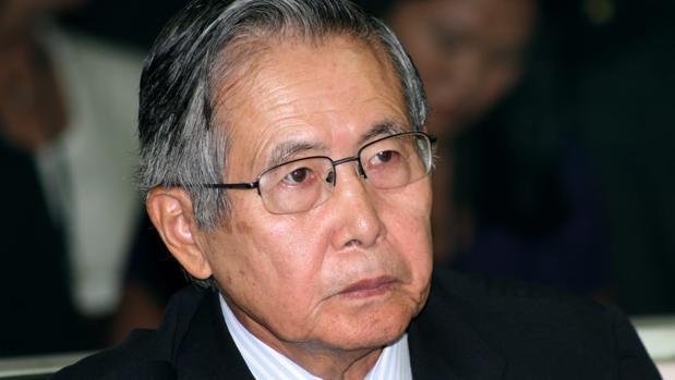 El expresidente de Perú Alberto Fujimori en la Corte Superior de Justicia