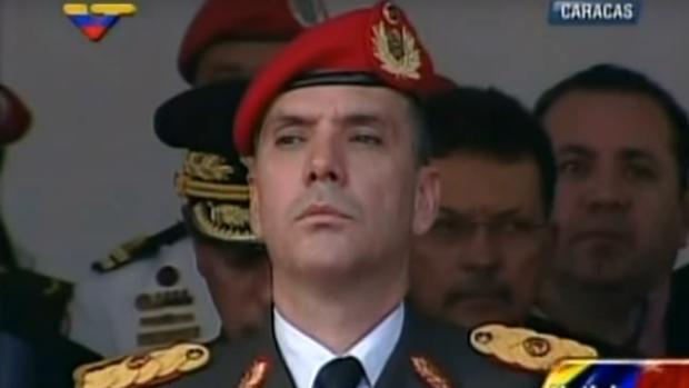 El general Iván Hernández Dala, responsable de la Dirección General de Contrainteligencia Militar (DGCIM)