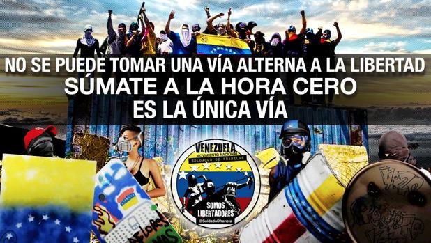 Imagen empleada en uno de los mensajes de la cuenta de Twitter de Soldados de Franelas