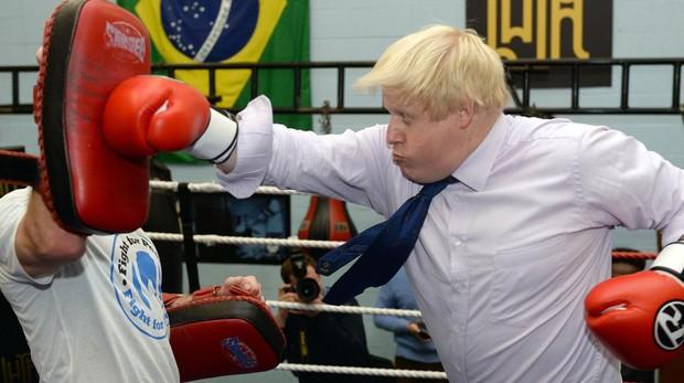El exministro británico de Exteriores Boris Johnson