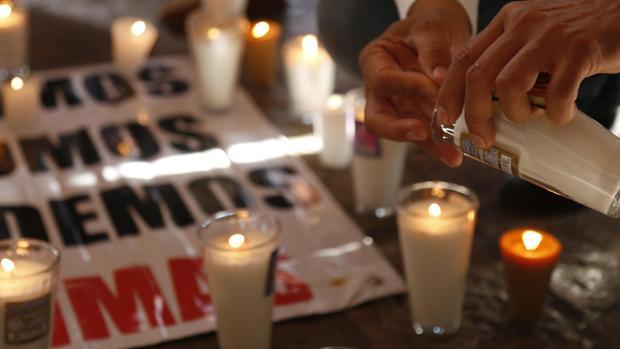 Protestas contra el crimen organizado en el estado de Jalisco