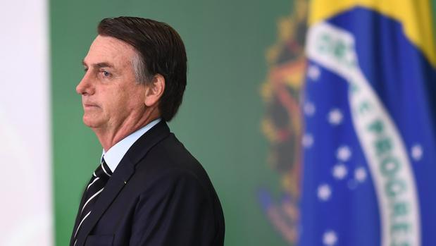 El presidente de Brasil. Jair Bolsonaro, en una fotografía de archivo