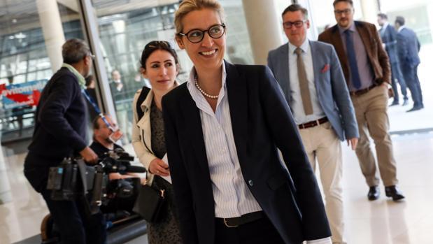 a líder del partido Alternativa para Alemania (AfD) Alice Weidel