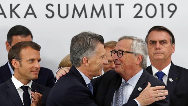 Los líderes del Mercosur y la Unión Europea sellan el acuerdo en Osaka