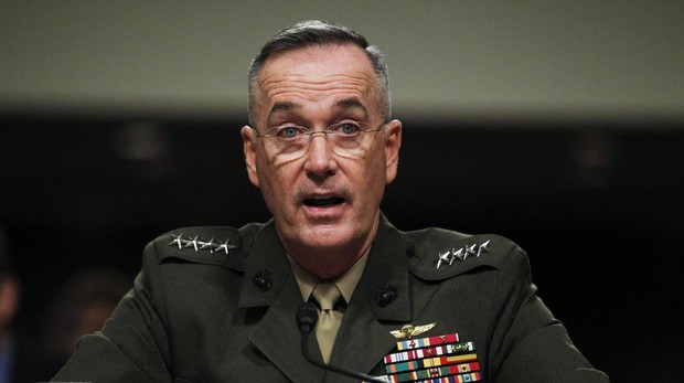 El Jefe del Estado Mayor estadounidense, Joseph Dunfrd