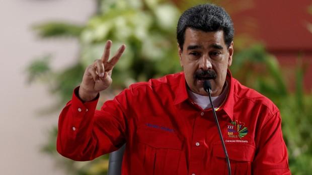 Maduro suspende el diálogo por el embargo de Trump